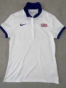 Nike Elite Pro GB golf Olympic Track Running T Shirt Womens M