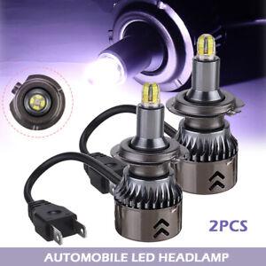 2pcs 8 Sides 30000LM H7 360° Car Canbus LED Headlight Lamp Xenon White 6000K s-
