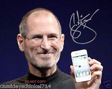 "Steve Jobs 8x10"" reprint signed photo #2 RP Apple Inc Founder Pixar Studios"