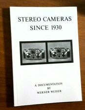 Stereo Cameras since 1930 by Werner Weiser 1st edition 1988 FREE USA SHIPPING