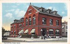 1923 Post Office Tyler TX post card