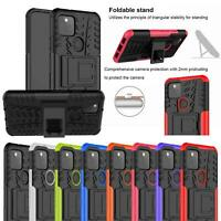 For Google Pixel 5 5G Case Slim Armour Hybrid Shockproof Stand TOUGH Phone Cover