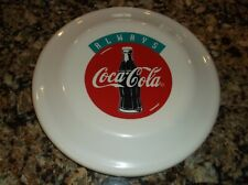 Always Coca Cola Flying Disk Red White Blue Plastic Frisbee Coke Classic