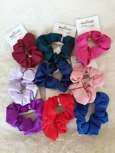 Small 7cm Satin Scrunchies - Choice of 9 Colours