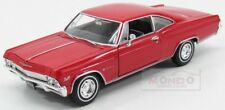Chevrolet Impala Ss 396 Coupe 1965 Red Welly 1:24 WE22417R