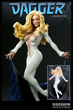 SIDESHOW CLOAK AND DAGGER COMIQUETTE EXCLUSIVE VERSION 1/5 SCALE STATUE NEW #133