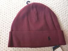 f00a14c3116 NWT Polo Ralph Lauren Thermal Cuff Pony Cotton Beanie Hat