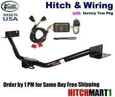 TRAILER HITCH & WIRING FOR 2011-2013 KIA SORENTO SX, EX V6 w/ FACTORY TOW PKG