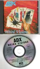 ADX original CD Weird visions 1990 on Noise International