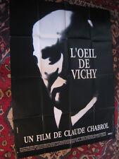 AFFICHE ORIGINALE L'OEIL de VICHY 160 cm X 120 cm Claude CHABROL 1993