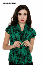 Collared Cap Sleeve Classic Tops & Shirts for Women