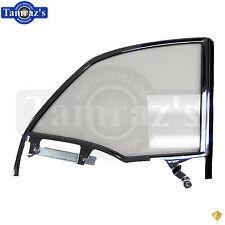 55-57 Chevy Bel Air CONV'T Rear Quarter Glass Window w/ Track Frame CLEAR RH