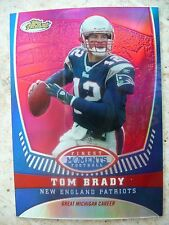 2008 TOPPS FINEST#TB12- FINEST MOMENTS REFRACTOR - TOM BRADY. NM-MT, 95/149