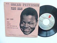 oscar peterson pIANO SOLOS Debut ..  GEP 12501