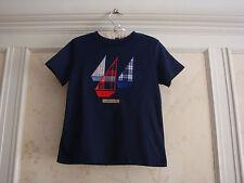 NWT Janie And Jack  Riviera Resort  Boys Sailboat Tee Top Shirt  4 4T Navy