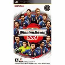 Used PSP World Soccer Winning Eleven 2014  in 2013 fall Released