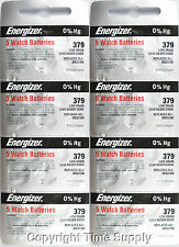 40 pcs 379 Energizer Watch Batteries SR521SW SR521 % HG