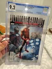 Ultimate Fallout #4 CGC 9.2 1st Print 3867053002 1st Appearance of Miles Morales