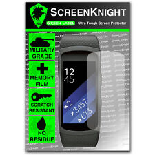 Screenknight Samsung Galaxy Gear Fit 2/- Screen Protector Invisible Shield II