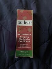 Purlisse Watermelon Energizing Marshmallow Peel Off Mask Sealed 70ml Nib