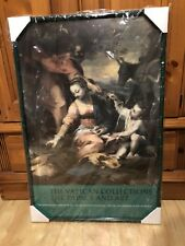 "Barocci's ""REST ON FLIGHT INTO EGYPT"" Framed POSTER WALL ART PRINT RARE 39"" x26"""