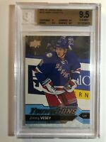2016-17 Upper Deck Jimmy Vesey Young Guns Rookie BGS 9.5