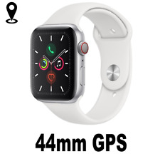 Watch Series 5 GPS 44mm Smart Watch Aluminium case Sport Band white for Apple