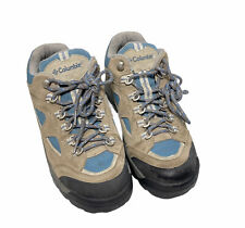 Columbia Stone Cliff II Hiking Women's Shoes  US Size 8 Blue Beige Outdoor