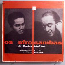 BADEN POWELL/VINÍCIUS DE MORAES~OS AFRO-SAMBAS~ULTRA-RARE ORIG'66 BRAZIL MONO LP