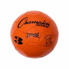 Champion Sports Extreme Soft Touch Butyl Bladder Soccer Ball, Size 3, Orange