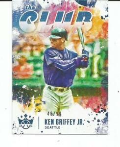 2021 PANINI DIAMOND KINGS BASEBALL KEN GRIFFEY, JR. THE CLUB FOIL INSERT #48/99