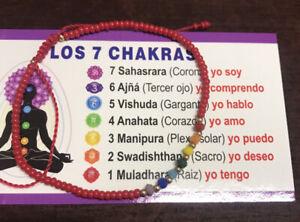 7Chakra~Bracelet~Red