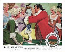 Lot of 3, Laurence Olivier, Color + Black&White stills THE BEGGAR'S OPERA (1953)