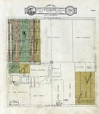 1928 atlas Kalamazoo County Michigan plat maps old Genealogy history Dvd P153