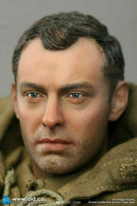 1:6 Vasily Soldier Head Sculpt Carved Fit 12'' TBL COO Muscle Action Figure Bod