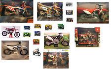 1:12 KTM Husqvarna Kawasaki Honda Motorrad Motocross Modelle Spielzeug MotoGP