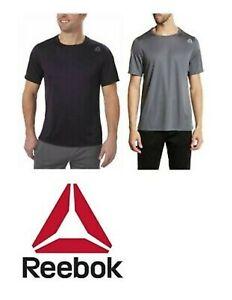 Reebok Mens Speedwick Active Mesh Hidden Pocket T Shirt / Short Sleeve -US Sizes