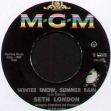 "SETH LONDON ~ WINTER SNOW, SUMMER RAIN / MISS YOU ~ 1967 US 7"" SINGLE"