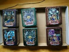 Yugioh 2002 Complete Tin Set Brand New Factory Sealed NM W/GEM MINT cards inside