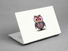 "15.6"" Laptop Notebook Sticker Cover Decal vinyl Art Owl Dell HP Acer Asus Lenovo"