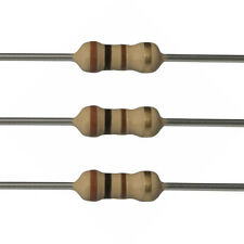 10 x 100 Ohm Carbon Film Resistors - 1/4 Watt - 5% - 100R - Fast USA Shipping