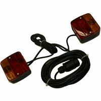 Quality Caravan, Towing & Trailer Safety Light, Brake & Indicator Magnetic Board