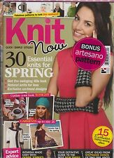 KNIT NOW MAGAZINE ISSUE 20 2013,QUICK * SIMPLE * STYLISH, 4 IN 1 BUMPER ISSUE