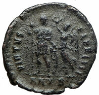 ARCADIUS w Victory ANGEL Authentic Ancient 395AD Antioch Roman Coin i80216