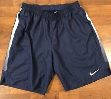 Nike Basketball Running Shorts Navy Mens Large