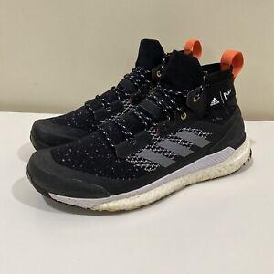 Mens Adidas Terrex Free Hiker Parley Core Black Hiking Shoes Men 11 EF0347