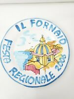 Dipinto A Mano Hand Painted Festa Regionale 2006 Prodotto Vietrese Plate Italy