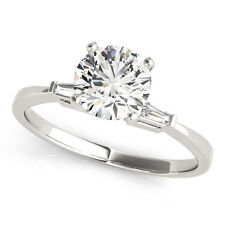 Engagement Ring F If 0.91 Round Brilliant Cut Diamond