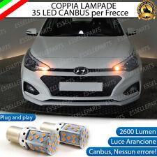 COPPIA LAMPADE PY21W BAU15S CANBUS 35 LED HYUNDAI I20 MK2 FRECCE ANTERIORI