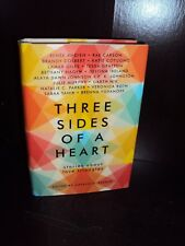 Three Sides of a Heart Hardcover 1st/1st SIGNED by Sabaa Tahir, Renee Ahdieh++